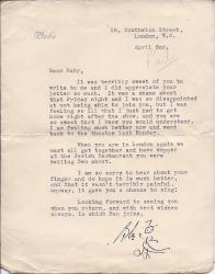 Two Typed Letters Signed from the Hollywood actress Bebe Daniels