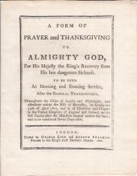 [madness of King George III]