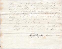 H.J. Codrington, sometime Admiral