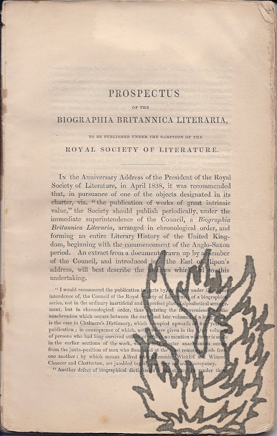 lord brougham essay Excerpt from prize essay: on the great importance of an improved system of education for the upper and middle classes france, with suggestions on the best means of making it perpetual - lord brougham, the earl of clarendon.